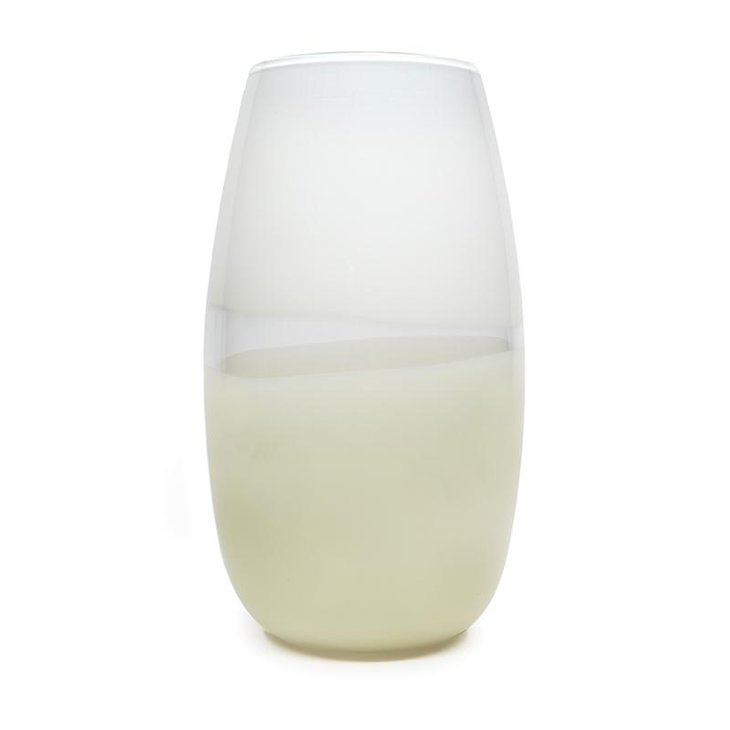 white/ivory lattimo soft cylinder
