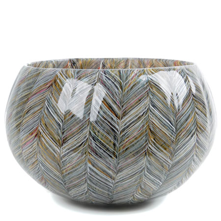 Thread Cane Sand Closed Bowl