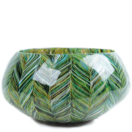 Thread Cane Grass Closed Bowl
