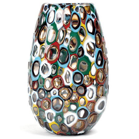 Meteor Murrine Rainbow Uvase