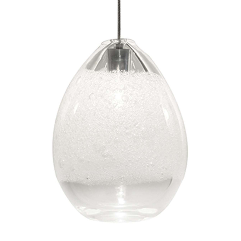 clear bubble egg light