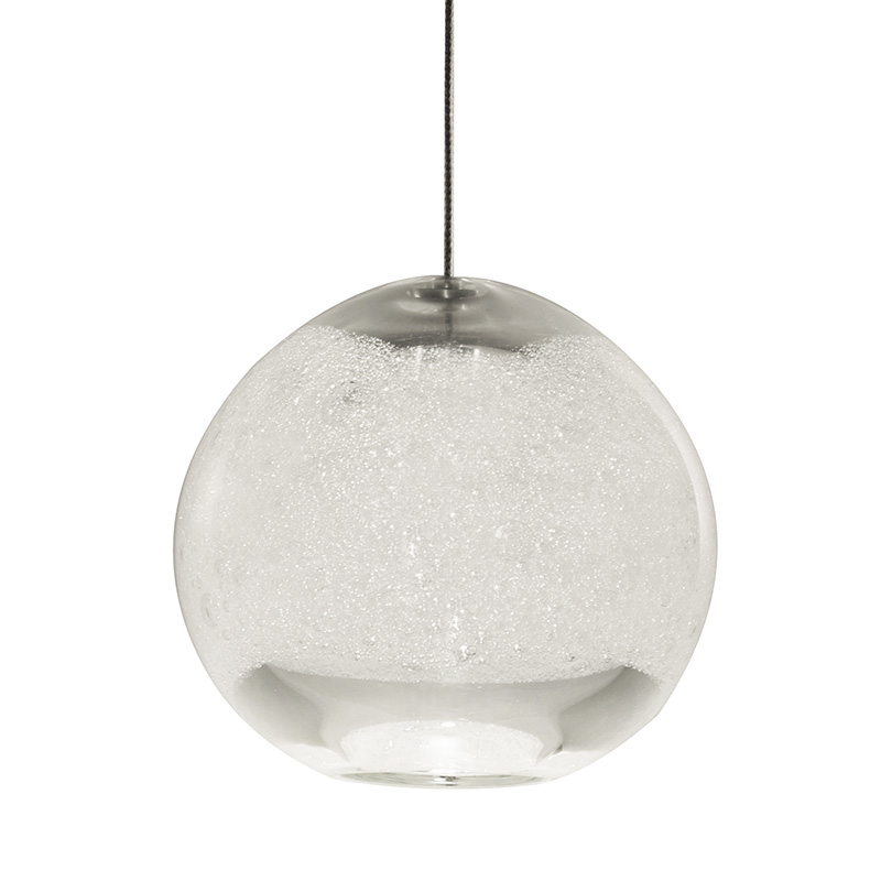clear bubble orb light