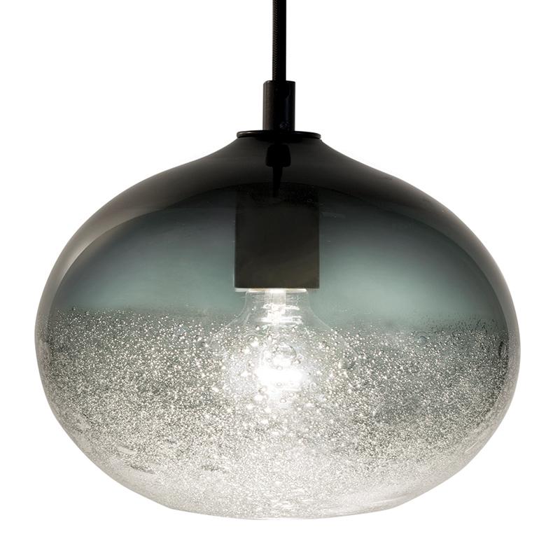 grey ellipse bubble pendant