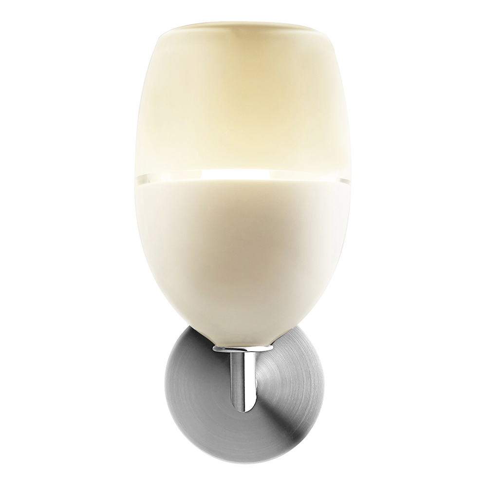 lattimo egg elbow sconce