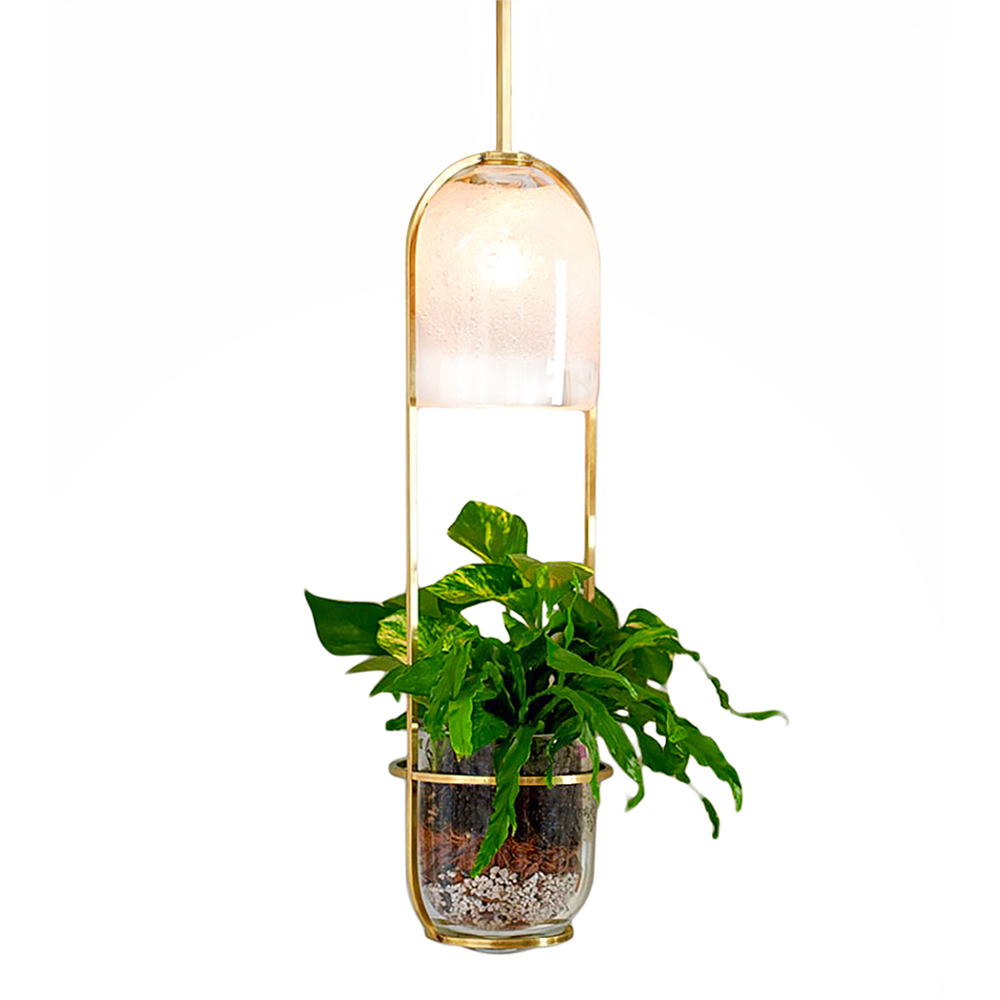Hand Blown Glass Lighting. growlight by siemon and salazar