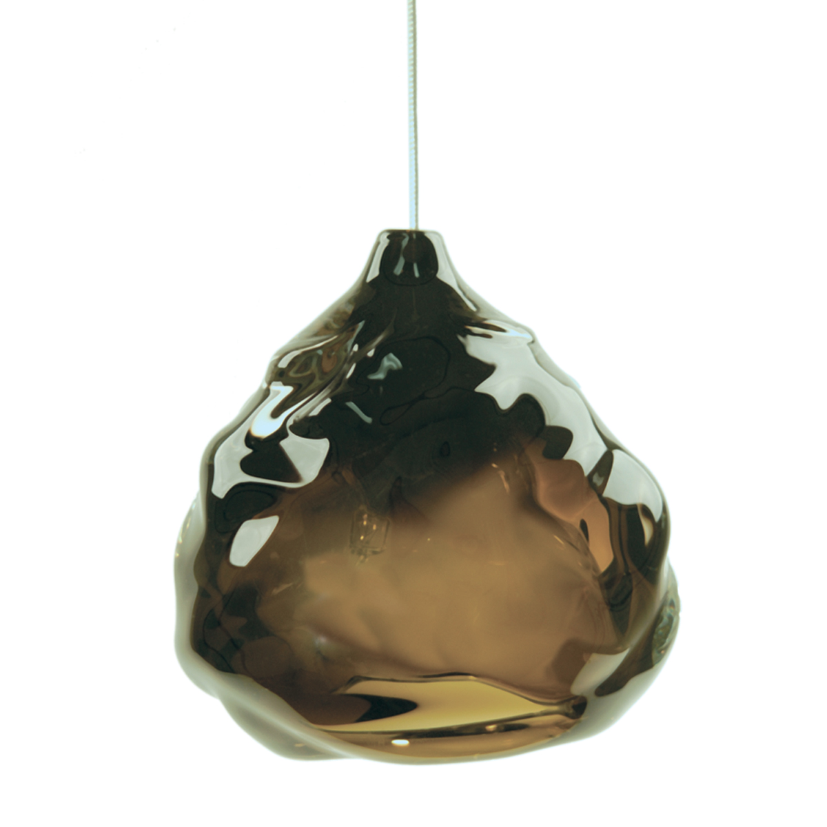Hand Blown Glass Lighting. sargasso happy light by siemon and salazar